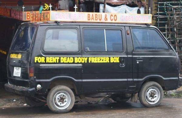 Dead Body Freezer Box