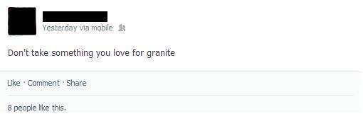 Sedimental Facebook Status