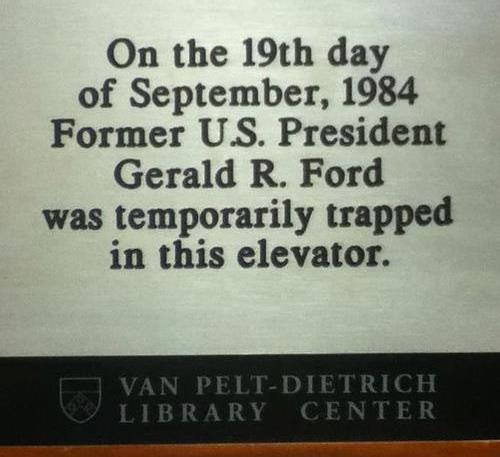 Funniest Signs Gerald Ford