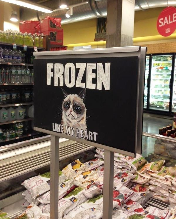 Grumpy Cat Sign