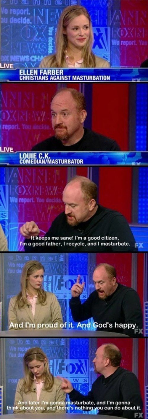 Louis CK On Fox News