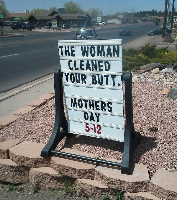 Funny Signs Mothers Day
