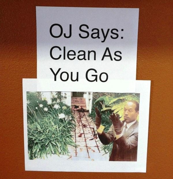 Funny Signs OJ