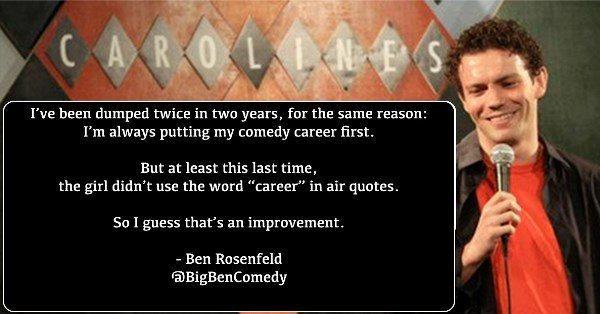 Comedy Career