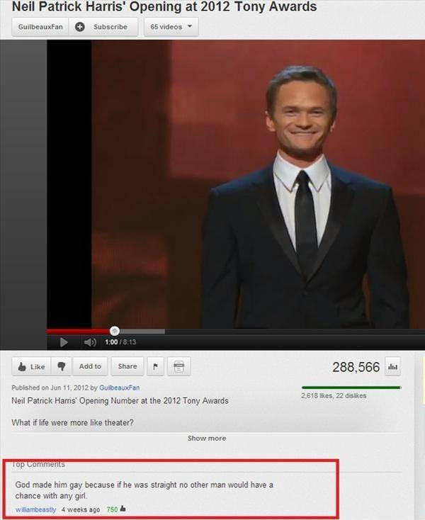 Funny YouTube Neil Patrick Harris