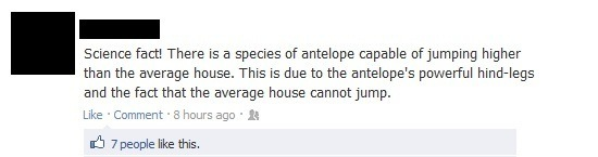 Greatest Facebook Posts Antelope