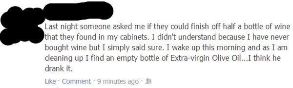 Hilarious Facebook Posts Party