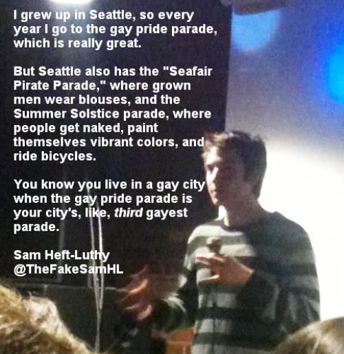 Gay Pride In Seattle