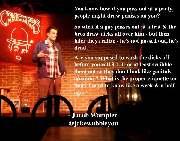 Hilarious Stand Up Quotes Party