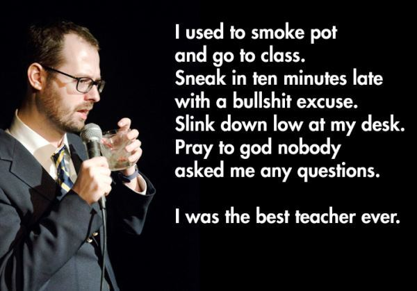 Good Teacher Hilarious Stand Up