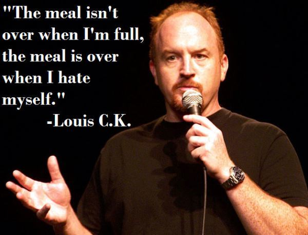 Louis CK When The Meal Is Over