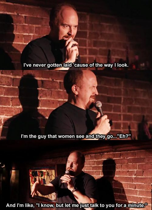 Louis CK On His Looks
