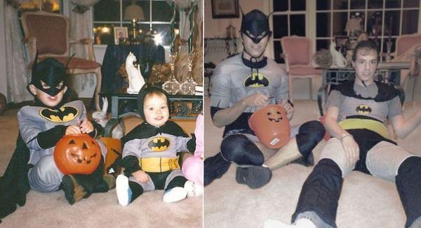 Batman Costumes Childhood Photos