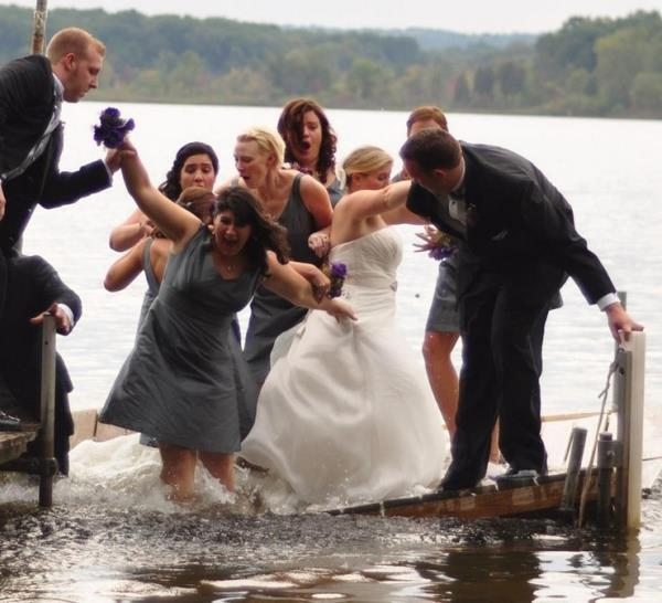 Wedding Photograph At The Perfect Angle