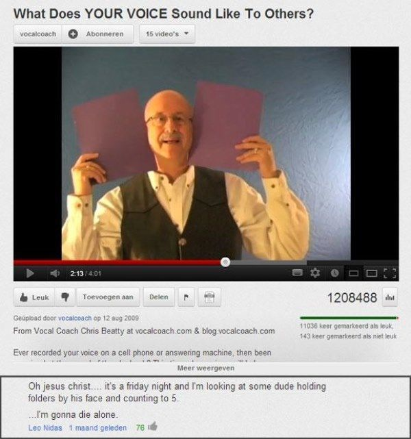 The 40 Funniest YouTube Comments Of All Time