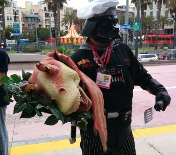 Grayscale Halloween Costume