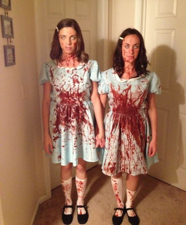 best halloween costumes twins from the shining