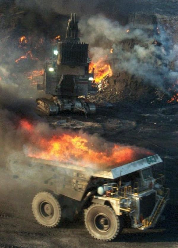 Dumptruck Of Fire