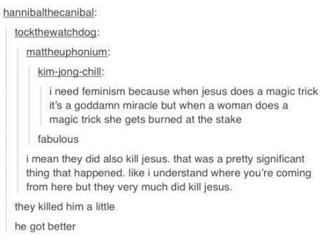 Funniest Tumblr Posts Jesus
