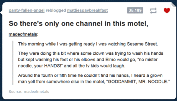Funniest Tumblr Posts Motel Story