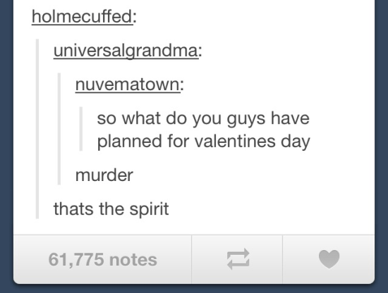 Funny Tumblr Posts Murder