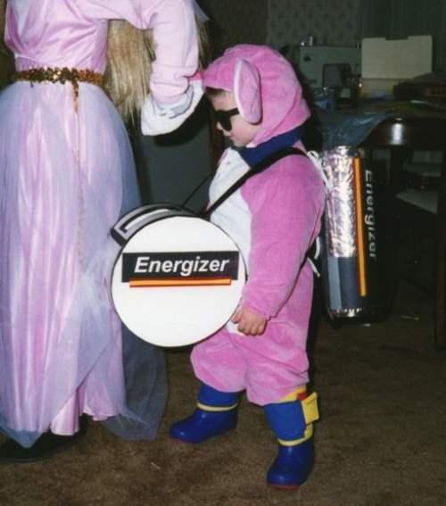 Halloween Costumes Energizer Bunny