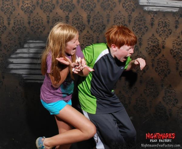 Haunted House Candid Photos