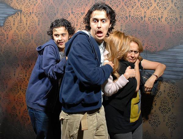 Haunted House Reaction Photos