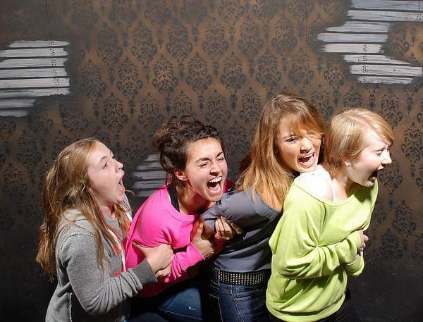 Haunted House Reactions Kids