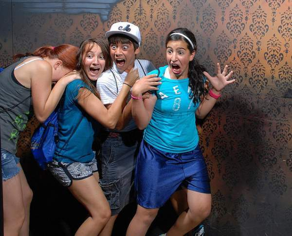 Haunted Houses Reactions