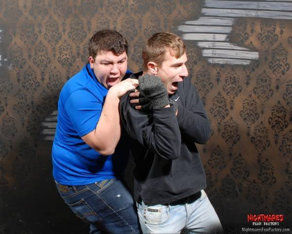 Hilarious Reactions Haunted House