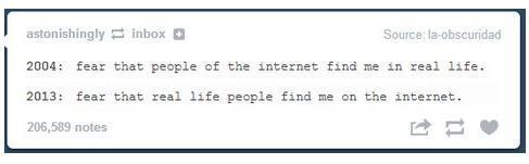 Internet Fears