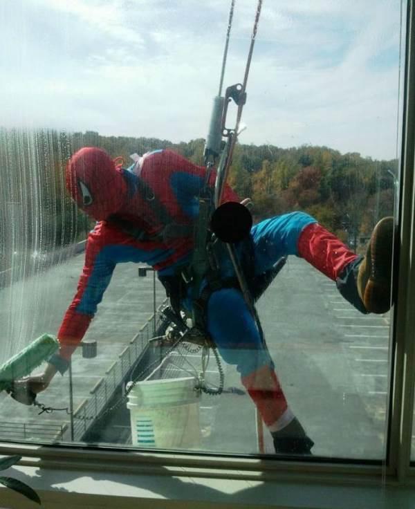 Professional Spiderman