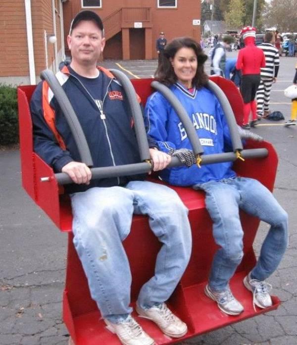 Roller Coaster Riders Costume