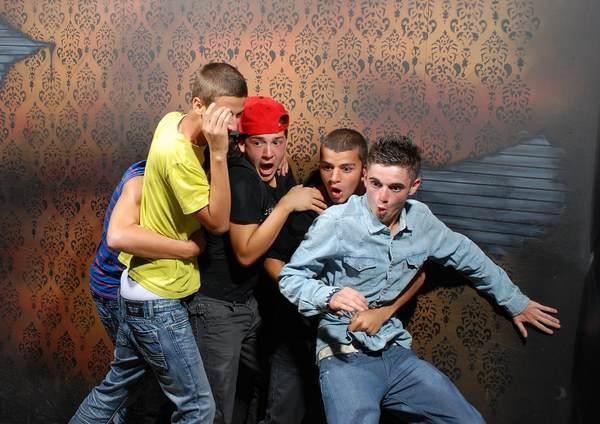 Scared Bros Photo