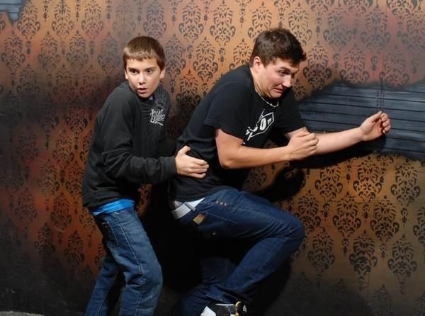 Scared Bros Running