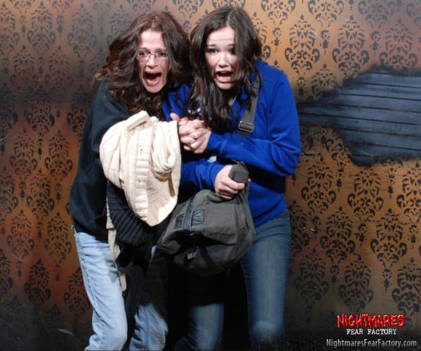 Scared Haunted House