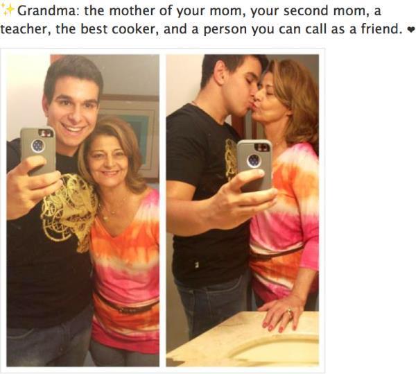 Grandma Sexy Selfy Fail