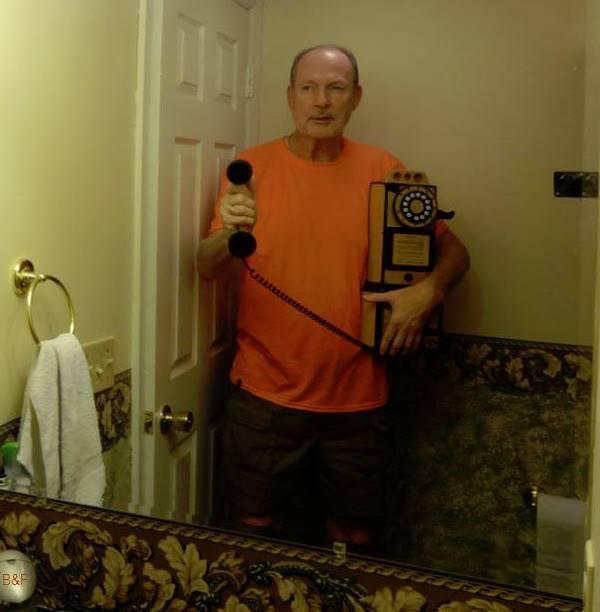 Grandpa Selfy