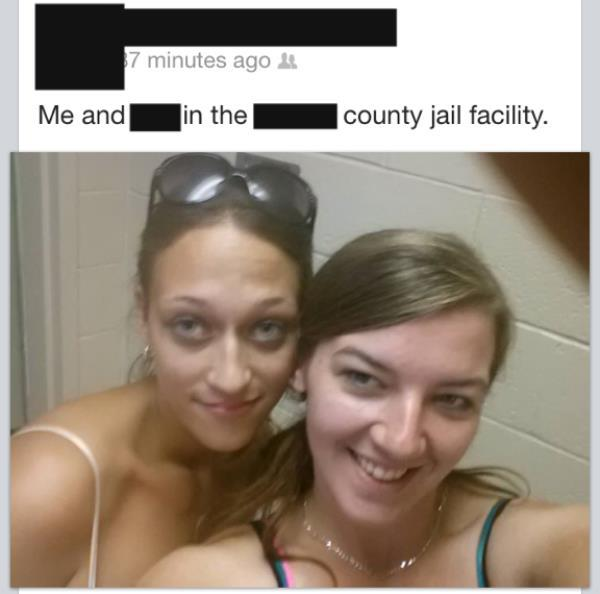 Selfy Fails Jail