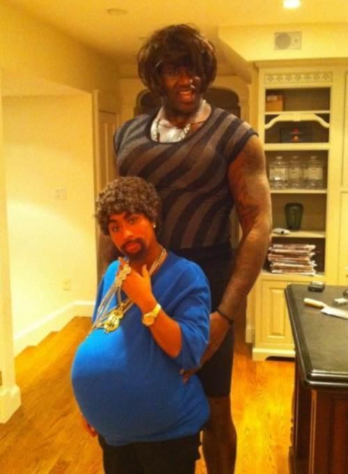 Shaq's Halloween Costume