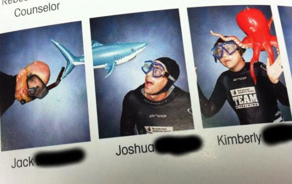 Biology Teachers Epic Yearbook Photo