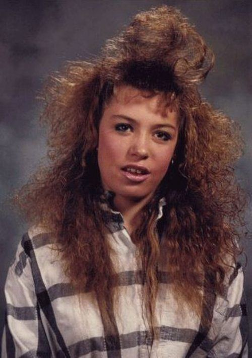 Bad Hair Funny Yearbook Photos