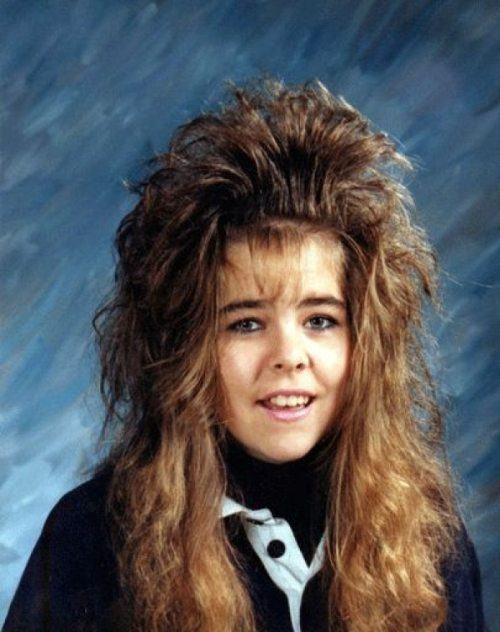Funniest Yearbook Photos Hair