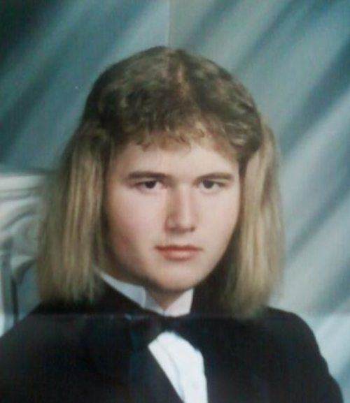 Poodle Hair Funny Yearbook Photos