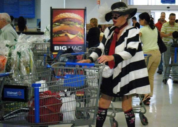Hamburgler At Walmart