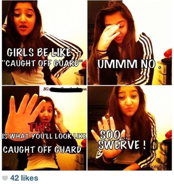 Instagram Fails Swerve