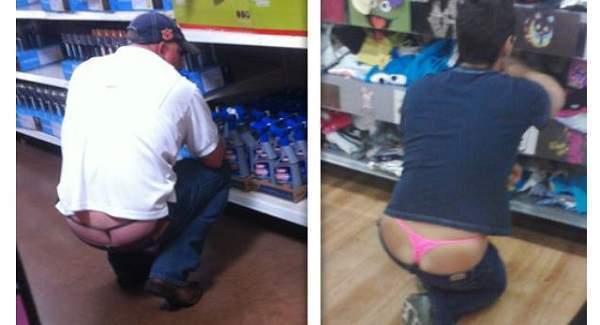6ac76b324a9 People Of Walmart  35 Funny Photos Of Where Butt Cracks Rule