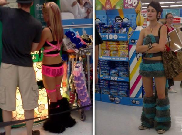 Ravers At Walmart