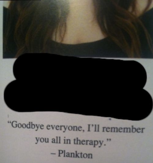 I'll Remember You In Therapy